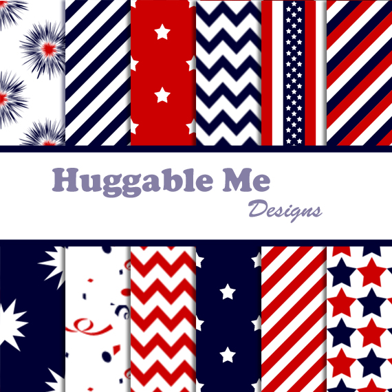 Red White Blue Stripes Background Red White Blue Chevron